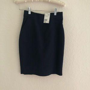H&M Navy blue skirt